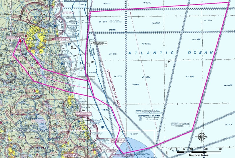 Airspace Operating Range